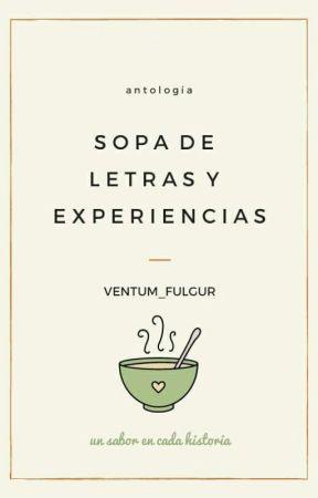 Sopa de letras y experiencias. by Ventum_Fulgur