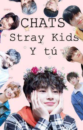 Stray Kids y tú;; Chats.  by CamuKamu