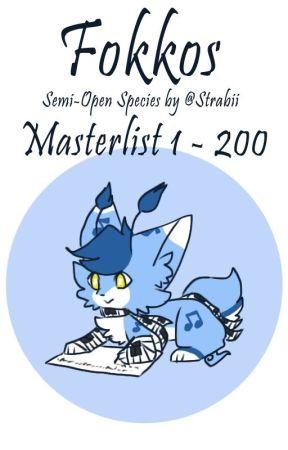 Fokkos Masterlist (1 - 200) by LeafyKitsune