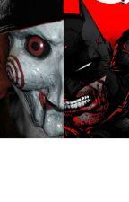 Batman vs Jigsaw by DarkReaderX