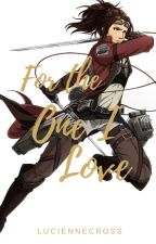 For the One I Love  ||  Hanji x Female Reader by LucienneCross