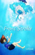 Front Stroke (Sans x Frisk) by LJadeite