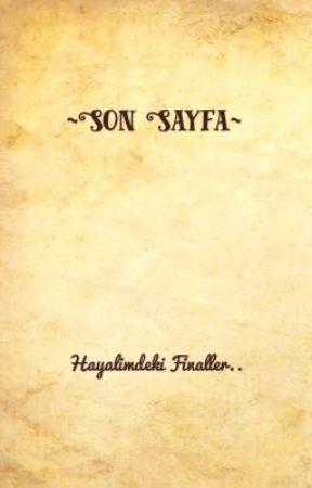 Son Sayfa by zeynemuss