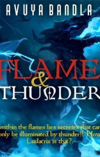 FLAME & THUNDER: The Dragon Wars Series  Book 1 cover