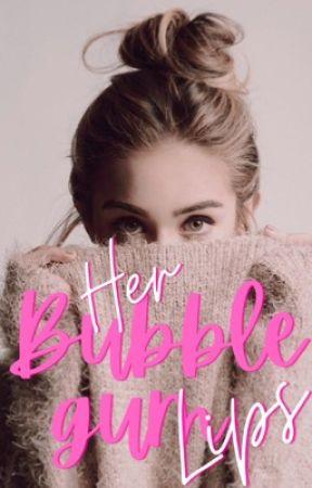 Her Bubblegum Lips by Golden_Blanc