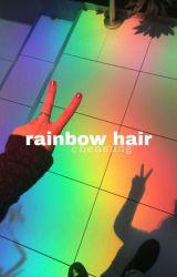 rainbow hair ✈ chensung by smuttytaelien