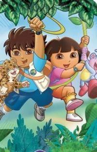 Dora x Diego (18+) (Shoutout to my weird wack-ass friend) (This is short) cover