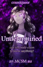 Undetermined [MCSM AU] by cosmiqueer