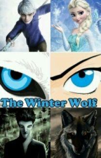 Girl with a Winter Wolf by Ceredwyn Macrae