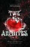 THE ARCHIVES ‣ graphic shop + portfolio cover