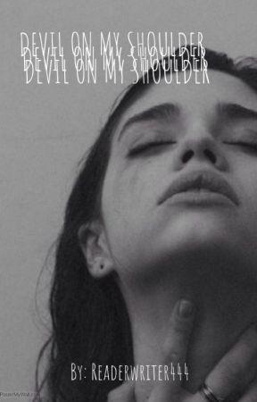 devil on my shoulder • micheal langdon by LOVELYVALESKA