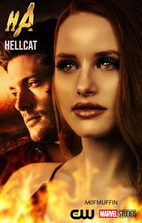 HELLCAT - supernatural ft marvel by M0FMUFFIN