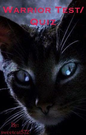 Warrior Cat's Test/Quiz by sweetcat572