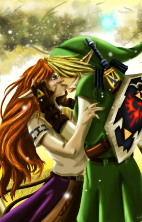 [Link x Malon] Legend of Zelda: Malon's Hero by alleskeins