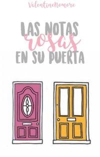 las notas rosas en su puerta  cover