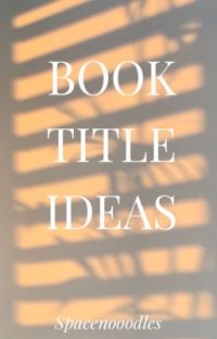 Book Title Ideas cover