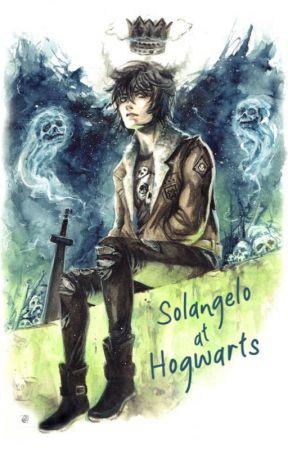 Solangelo At Hogwarts by HungryGremlin2003