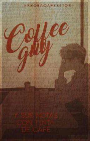 Coffee Guy; Katsudeku  by arrobacafesitos_