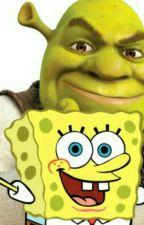 Shrek x SpongeBob  by CoffeePopTarts4Life