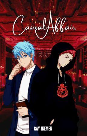 Casual Affair | Akakuro [ON HOLD] by gay-ikemen