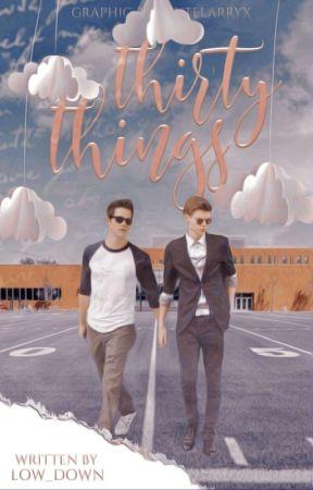 Thirty Things|| Newtmas by _marivchaton_