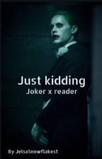 Just kidding by JelsaSnowflakes1