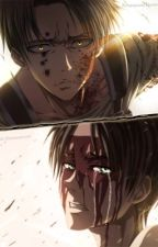 Don't leave me (Levi x eren) by jaegerbombb