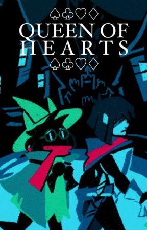 QUEEN of HEARTS | deltarune by kaileynovella