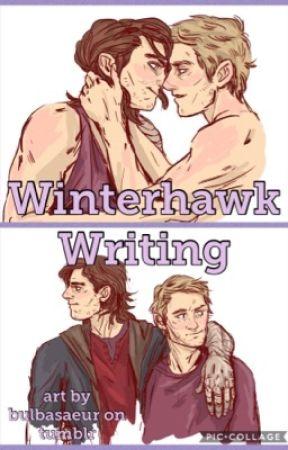 Winterhawk Writing by mrspecopsguy