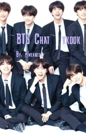 ~BTS Chat~ Vkook  by _pimeaniitty