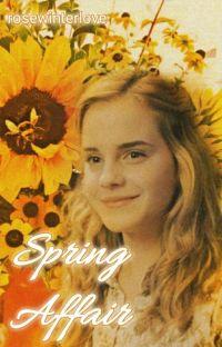 Spring affair ~ Dramione cover