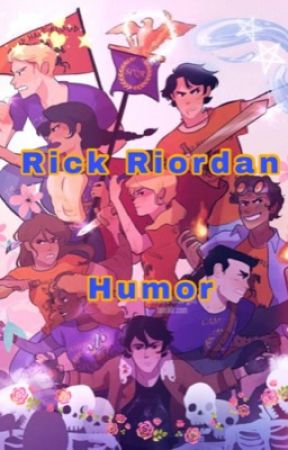Rick Riordan's fandom {Humor}  by Maty_47