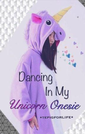 Dancing in my Unicorn Onesie  by tepigforlife