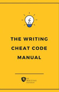 THE WRITING CHEAT CODE MANUAL cover