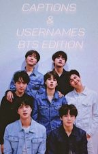 Captions and Usernames    BTS edition by PNDAEX