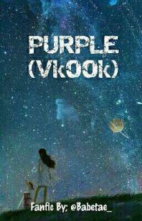 PURPLE (Vkook) cover