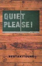 Quiet Please! by RestaKitsune