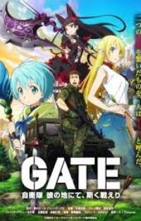 Gate and thus the allies fought there (Gate X WW2 Male reader) cover