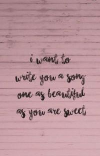 I Want to Write You a Song cover