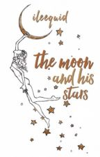 the moon and his stars by ileequid