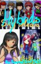 Hybrids (Skymedia, Shelby, Cory, and Aphmau) by LavenderPheonix_