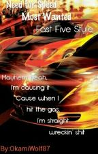 Need for Speed Most Wanted, Fast Five style by JadeDragon87