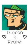 Duncan x Reader ~ Total Drama Island cover