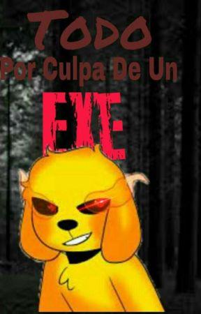 Todo Por Culpa De Un Exe | One-shot | Compas by __Cyan-