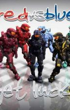 Red vs. Blue x reader  by SunBeam6Luv