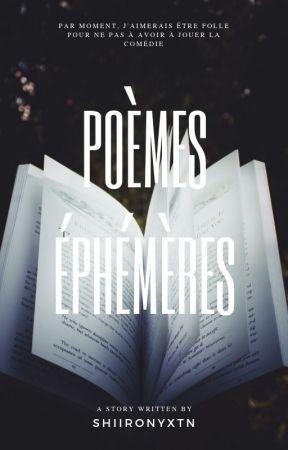 Poèmes éphémères by shiironyxtn