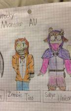 Ryguyrocky Monster High School AU by LegoBronyClockwork