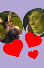 Shrek x Donkey- A layer away from my heart. by Plopness456