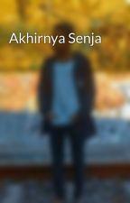 Akhirnya Senja by AditAdit206