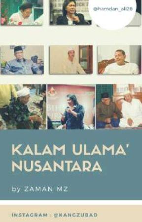 Kalam Mutiara Ulama Nusantara Nasihat Habib Luthfi Bin Yahya Wattpad